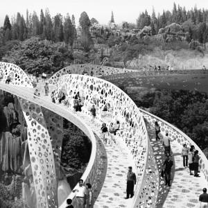 The Shi Ling Bridge by Arup