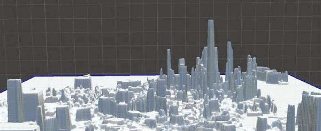 La topografia sociale di San Francisco stampata in 3D, un progetto che fonde arte e dati
