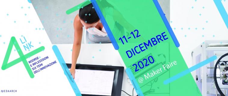4link4, le presentazioni in programma alla Maker Faire Rome 2020