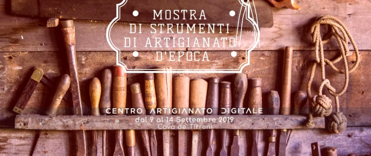 Mostra di strumenti di artigianato d'epoca: dal 9 al 14 settembre al CAD. Ecco come partecipare.
