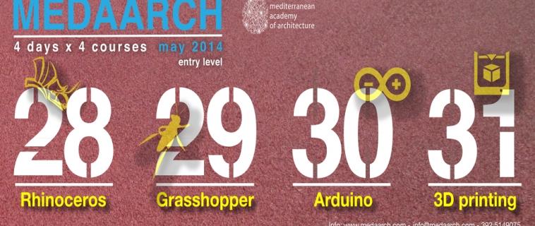 Torna 4 day x 4 courses! Vi aspettiamo il 28, 29, 30 e 31 maggio al Mediterranean FabLab.
