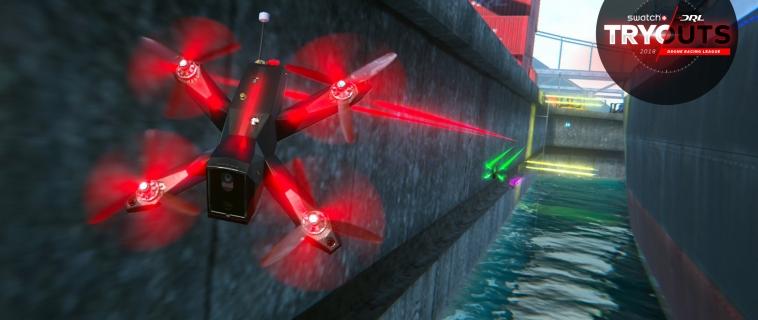 Drone Racing League: la competizione mondiale di corsa di droni