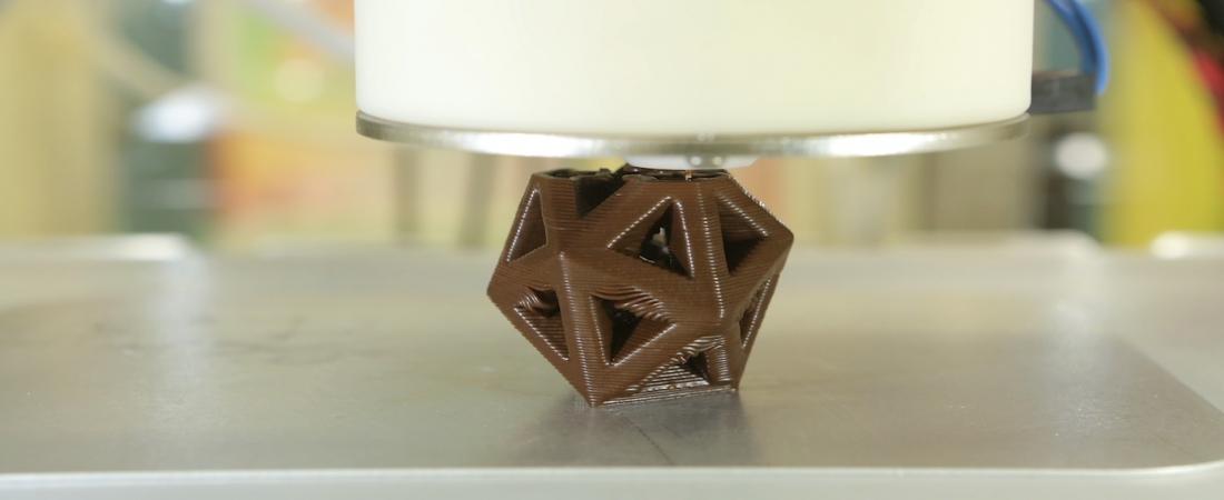 """Oggi è """"Hershey's Chocolate World Attraction"""", la prima mostra di cioccolato stampato in 3D"""