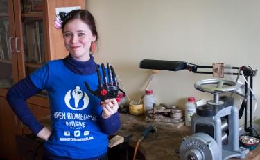Valentino Megale: vi racconto di TINA, la nuova mano stampata in 3D di Open BioMedical Initiative