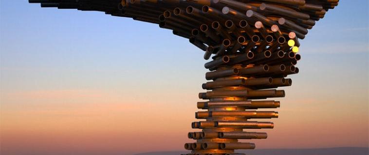 Singing Ringing Tree: l'architettura diventa sinfonia