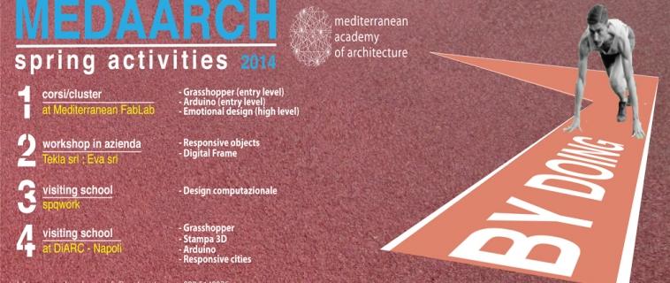 Il calendario corsi Spring 2014 promosso e organizzato dalla Medaarch