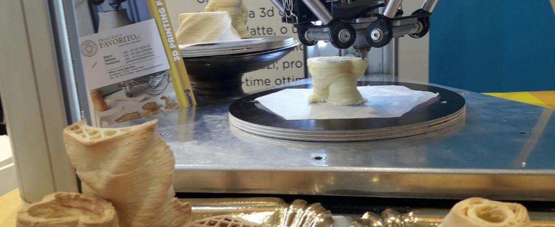 Da WASP la ricerca sulla stampa 3D di cibo gluten free