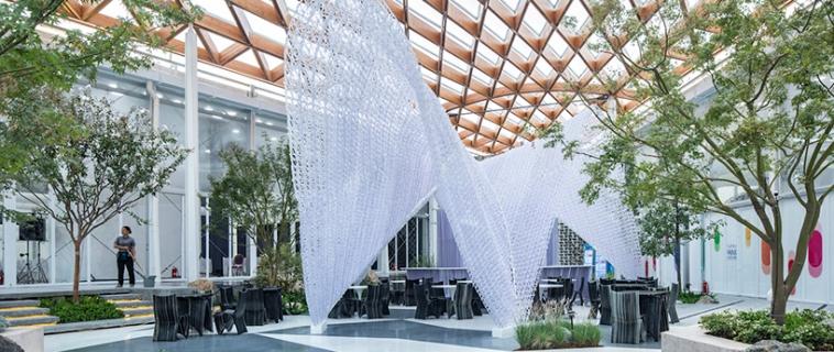 Archi-union costruisce 8,885 m² in 100 giorni utilizzando la stampa 3D