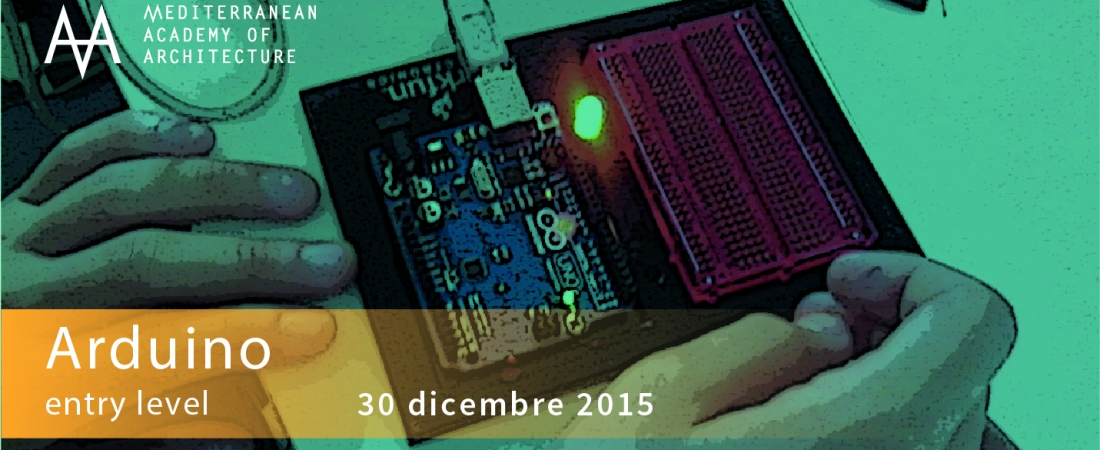 Corso base Arduino – mercoledì 30 dicembre 2015 al Mediterranean FabLab