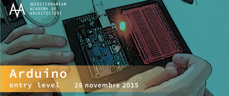 Corso base Arduino – sabato 28 novembre 2015 al Mediterranean FabLab