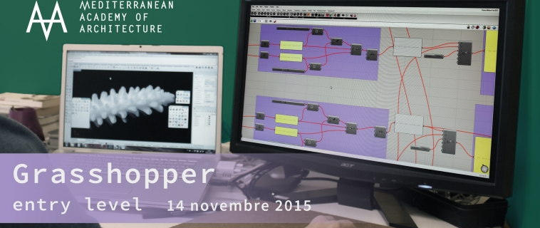 Corso base Grasshopper – sabato 14 novembre 2015 al Mediterranean FabLab