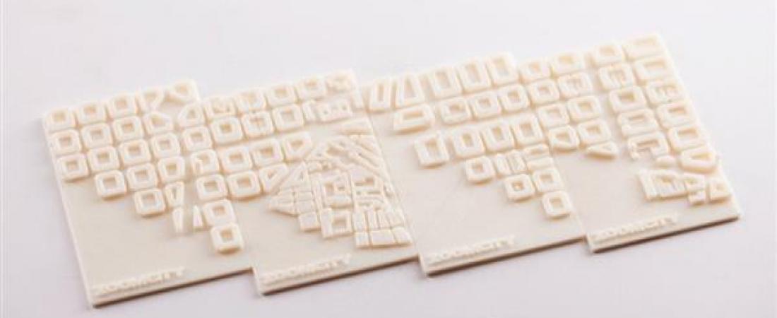 Da Zoomcity Barcelona, bigliettini da visita stampati in 3D che ripropongono la mappa della città