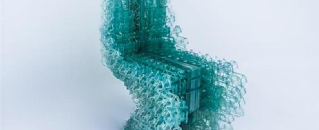 """""""Voxel Chair"""" la sedia stampata in 3D grazie a un software di progettazione continua"""