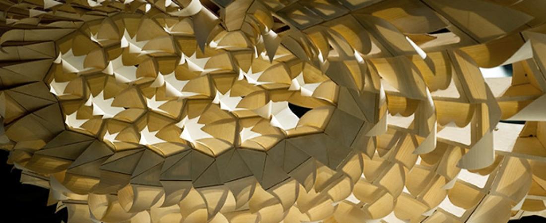 Hygroscope e Pad Hygroskin: i padiglioni meteorosensitive ispirati alla biomimetica