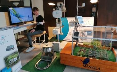 Maniola al CAD con Hydramote, l'innovativo sistema per la gestione dell'irrigazione