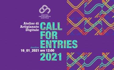 Atelier di Artigianato Digitale – III Edizione: al via la nuova call per il rilancio della manifattura 4.0 al Centro per l'Artigianato Digitale