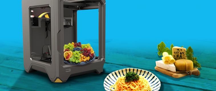 3D printing food e il futuro della gastronomia