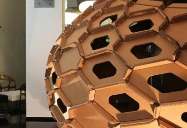 Cocoon cardboard: a temporary pavillion