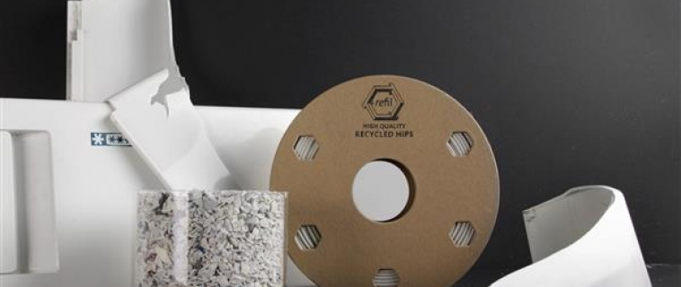 Da Coolrec e Refil un filamento per stampante 3D HIPS realizzato con frigoriferi riciclati