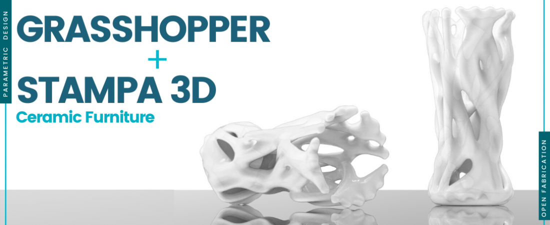 Design for Furniture: 2 weekend su Grasshopper e stampa 3D