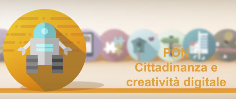 PON Cittadinanza e creatività digitale