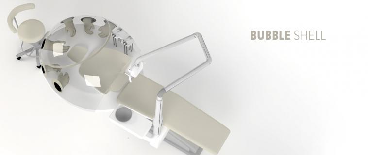 Bubble Shell: sistema anti-droplet per studi dentistici