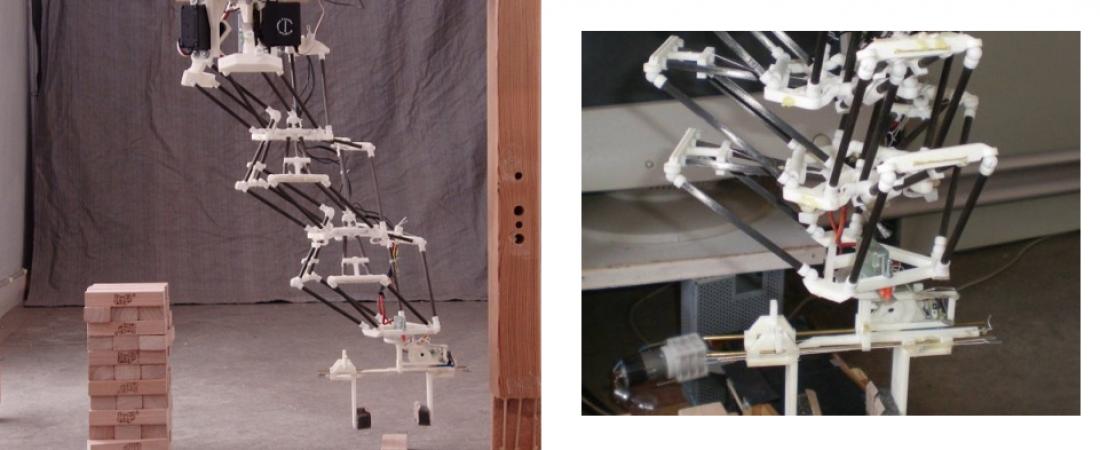 Triple Delta Robot: l'innovativo braccio robotico (più economico e leggero)