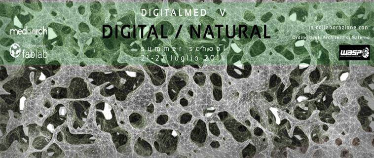 """""""Digital / Natural"""": digitalMed Summer School, la V edizione. Dal 21 al 27 luglio 2014 a Cava de' Tirreni (Sa)"""