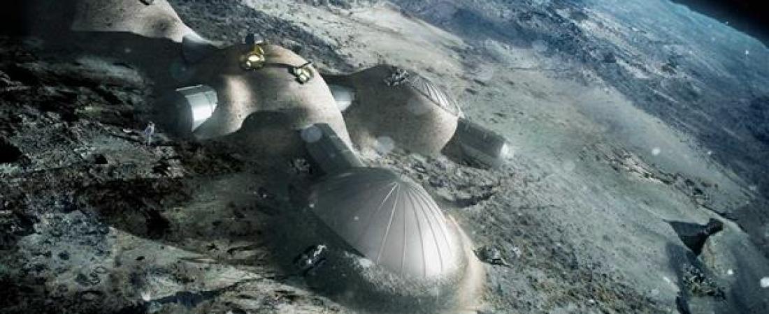 Dall'ESA il progetto di un villaggio lunare stampato in 3D per il 2030