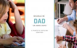 Scuola in DAD, un anno dopo: il punto di vista dei genitori