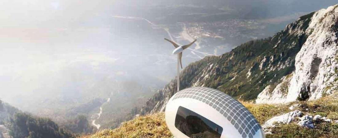 """Ecocapsule: una """"micro casa"""" mobile e sostenibile"""