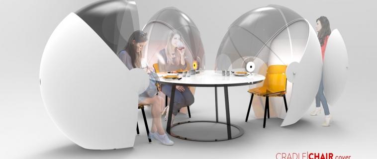 Cradle Chair Cover: la calotta per le sedute con schermo protettivo