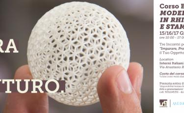 Rhinoceros e stampa 3D: dal 15 al17 giugnoa Pompei con Medaarch