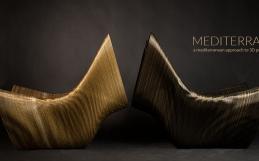 Medaarch alla terza edizione di EDIT Napoli con Mediterranea, la linea di arredi e complementi stampati in 3D.