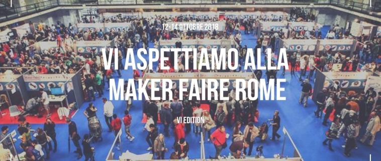 La Medaarch alla Maker Faire Rome 2018: ecco come saremo presenti!