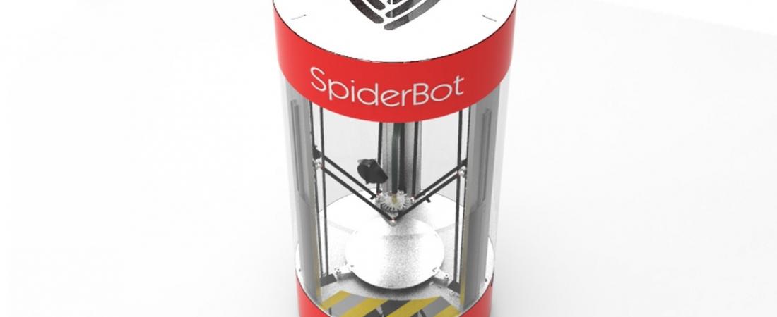 Il nuovo sistema a doppia estrusione per la SpiderBot 3D