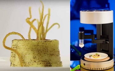 Dalla Columbia University, la 3D printer food che cuoce anche il cibo