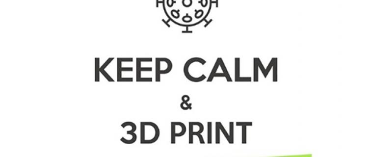 Il Design post-pandemia: keep calm, resta a casa e stampa in 3D