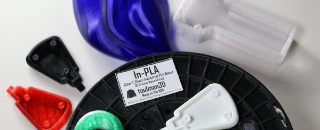 La taulman3D lancia In-PLA, il nuovo filamento industriale per la stampa 3d