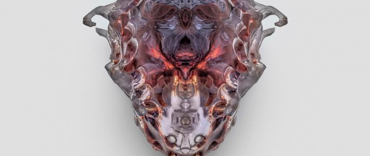 Neri Oxman presenta le nuove maschere mortuarie fatte microrganismi che producono pigmenti