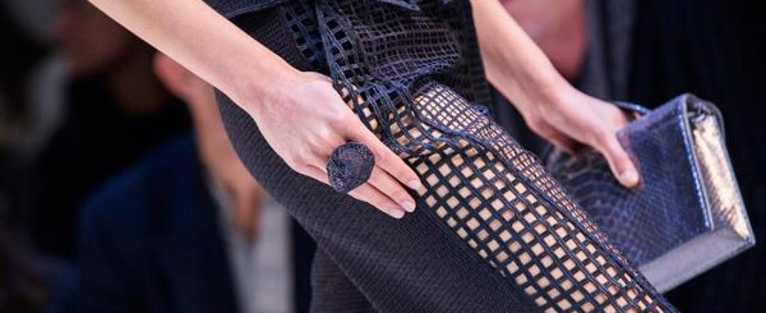 Da VOJD e Akris gioielli geometrici stampati in 3D per Paris Fashion Week